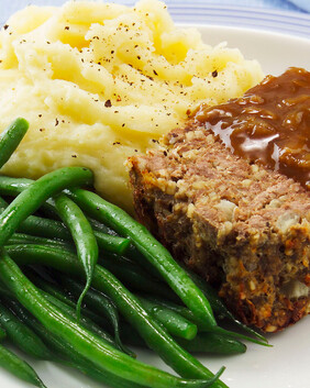 BBQ Meatloaf Meal