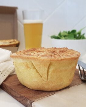 Pepper Steak Pie