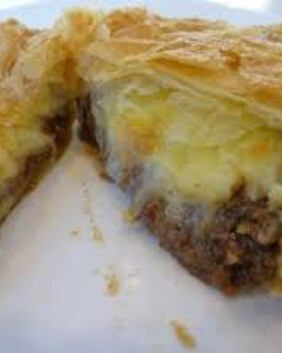 Mince & Cheese Pie for two