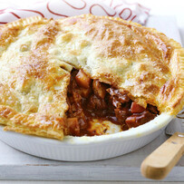 Lamb & Rosemary Pie for two