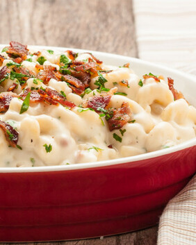 Macaroni Cheese & Bacon