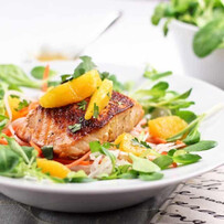 Salmon with Orange & Ginger