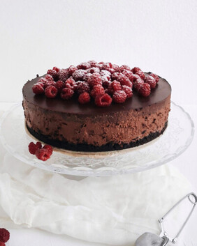 Whittaker's Milk Chocolate & Raspberry Cheesecake