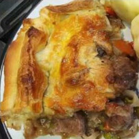 Lamb & Mint Pie for two